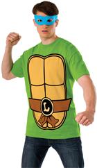 Leonardo Ninja Turtle T-Shirt Costume