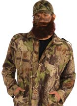 Camo Jacket for Hunting Man or Duck Dynasty Costume