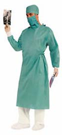 Surgical Gown and Cap Costume