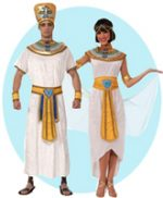 Egyptian King and Queen Couples Costumes