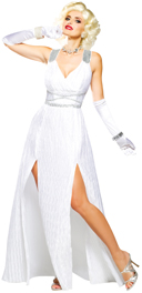 Hollywood Goddess Long White Red Carpet Dress