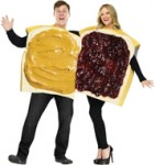 Peanut Butter & Jelly Couple's Halloween Costume