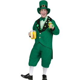 Leprechaun Pub Crawl Costume for St Patrick's Day