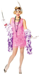 Flapper Snazzy Metallic Pink