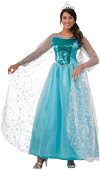 Elsa look-alike Costume Dress For Disney Frozen Character