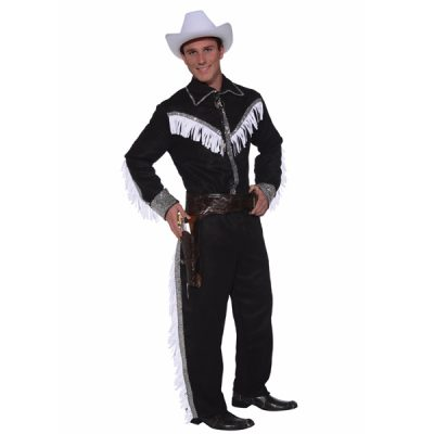 Cowboy costume with fringe