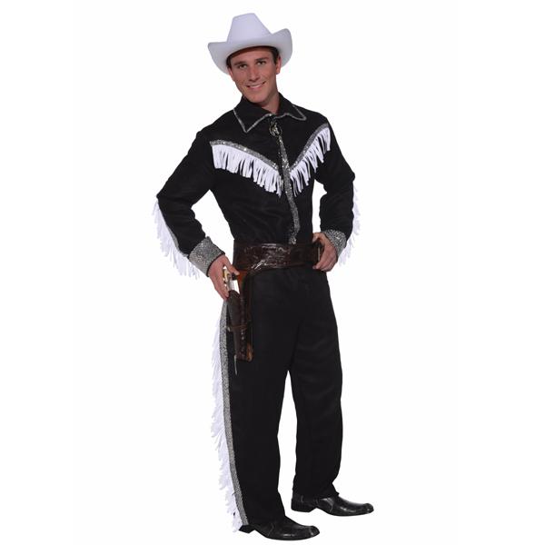 Cowboy costume with fringe