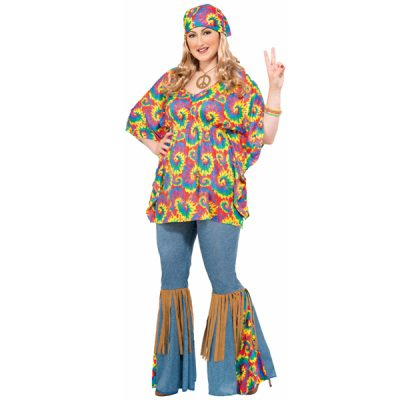 Hippie Plus Size Costume