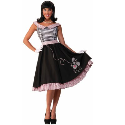 50s Costume poodle dress