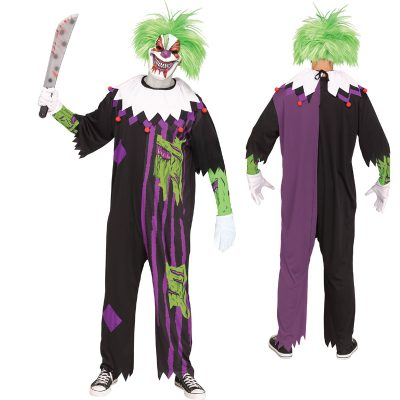 Demented Clown Adult Halloween Costume