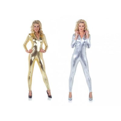 Metallic Jumpsuit Gold or Silver