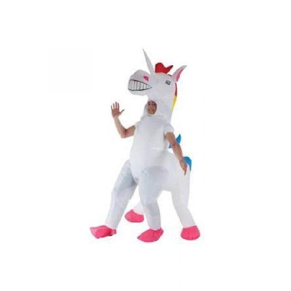 Inflatable Giant Unicorn Adult Costume