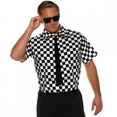 80s Short Sleeve Checkered Shirt