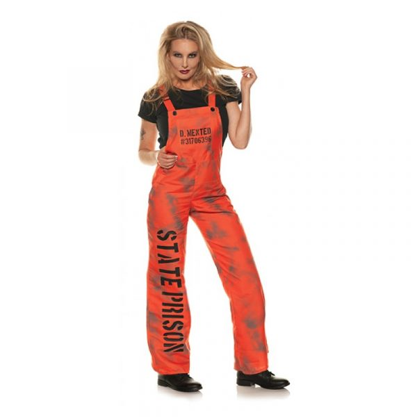 D Mented Prison Overalls Women's Size