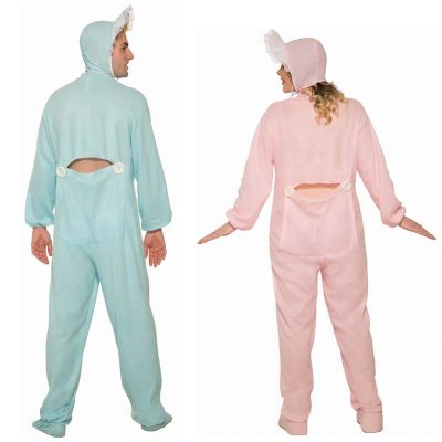 Adult Size Pink or Blue Jammies