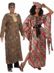 African King & Queen Couples Costume