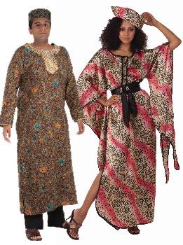 King And Queen Halloween Costumes | Buy Adult Halloween Costume Cookie Tunic Cappel S