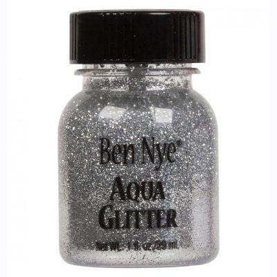 Silver aqua glitter ben nye