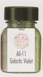 Galactic Violet Aqua Glitter Paint  Make-Up Clown Theater