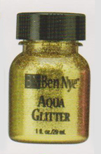 Gold Aqua Glitter Paint Make-Up
