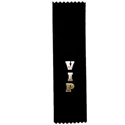 VIP Designation Ribbon - Flat Satin Ribbon