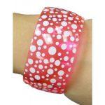 Bracelet, Neon Polka Dot