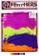 Small Select Assorted Turkey Feathers