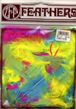 Turkey feathers - Hot Neon Colors Plumage