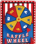Raffle Wheel Spinner Festival Monte Carlo