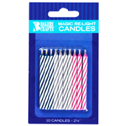 Magic Re-Light Candles