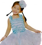 Ice Princess Costume & Accessories (like Elsa in Frozen)