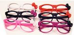 Kitty Eyeglasses With Bow and Claws - No Lens