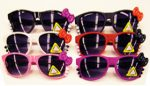 Kitty Sunglasses With Bow and Claws