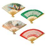 Printed Paper Folding Fan