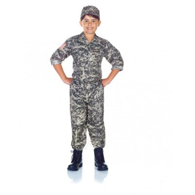Army Camo Set Child Costume