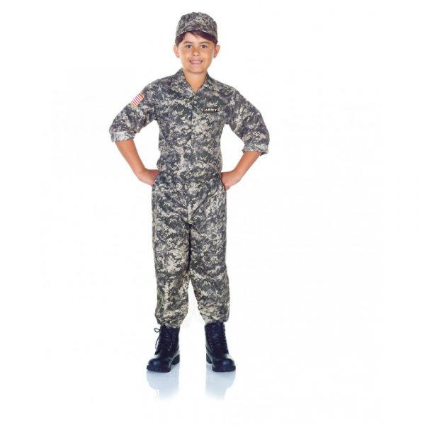 Army Camo Set Child Costume