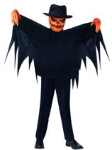 Pumpkin Slayer Scary Halloween Kids Costume