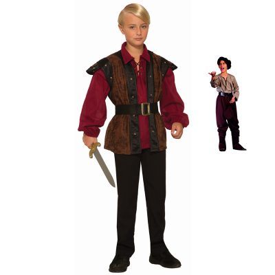 Renaissance Faire Boy and Peasant Boy Costumes
