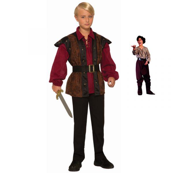Renaissance Faire Boy and Peasant Boy Costumes