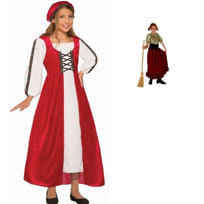 Renaissance Peasant or Faire Girl Costume