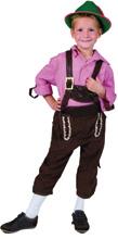 Alpine Boy Costume