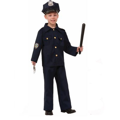 Police Boy child Halloween Costume