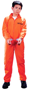 Got Busted - Orange Prison Jumpsuit