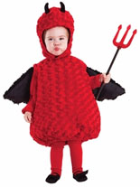 Belly Babies Lil Devil Costume for Toddlers and Small Children