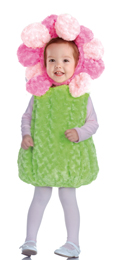 Pink Flower Belly Babies Costume for Infants and Toddlers