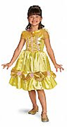 Belle Costume Dress Disney approved