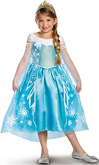 Frozen Elsa Costume Dress and Tiara
