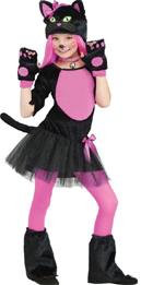 Kitty Miss Kitty Halloween Costume for Toddler/Child cat feline