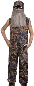 Duck Hunter Camo Jumpsuit Coveralls like Duck Dynasty
