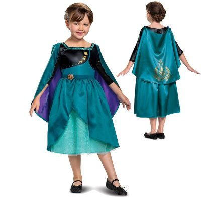 Frozen II Disney Princess Anna Child Halloween Costume